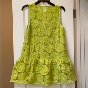 Free people lace lined dress small beautiful